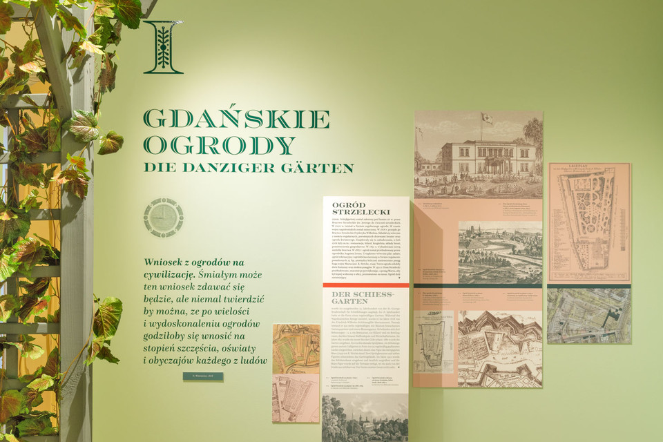 Gardens of Gdańsk: Exhibition